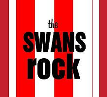 THE SWANS ROCK by petey59