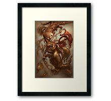 The Emulsifying Mermaid Framed Print