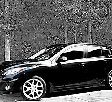 Mazda 3 Speed 2012 by Sherry Hallemeier