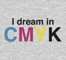 I dream in CMYK by contoured