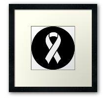 Breast Cancer Awareness Framed Print