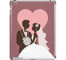 Wedding invitation design. iPad Case/Skin