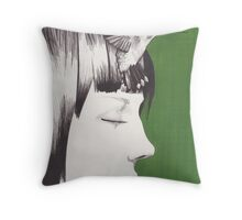 Dream Without Sound Throw Pillow