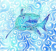 Swirly Shark by SwirlyDesign