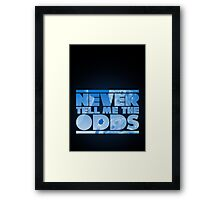The Odds Framed Print