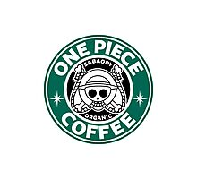 One Piece Coffee Photographic Print