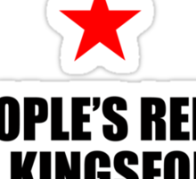 The Peoples Republic of Kingsford Sticker
