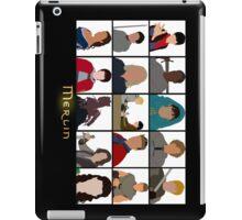 Characters Of Merlin iPad Case/Skin
