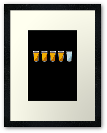 4 Beers and 1 Tapwater (The World's End) by jezkemp