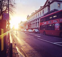 London Sunset by EricaCookies