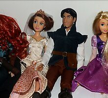 Disney Dolls!! by KitKat Lambert