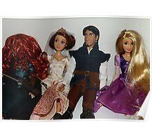 Disney Dolls!! Poster