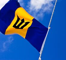 Barbados flag by Gabrel