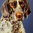 German Shorthair Retriever by Susan Bergstrom