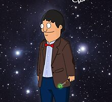 Dr Who Gene Belcher from Bob's Burgers Crossover by LukeSimms