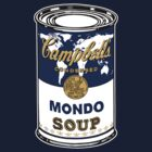 """Mondo Blue"", Warhol inspired Campbell's soup can by O O"