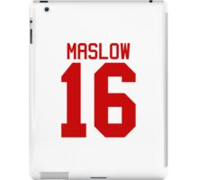 James Maslow jersey - red text iPad Case/Skin