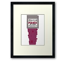 POWER in your POCKET Framed Print