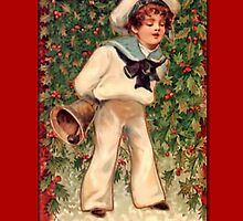 Holiday Greeting-Sailor Boy by Yesteryears