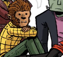 The Monster Club Sticker
