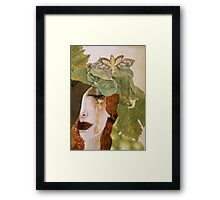 String Bean Love Framed Print
