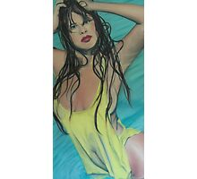 The Girl In the Pool Photographic Print
