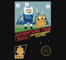 Adventure Time - NES by innercoma