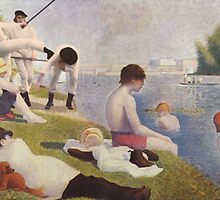 Clockwork Orange Seurat Mashup by Fangpunk