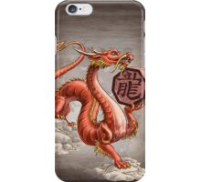 Year of the Dragon (for dark shirts) iPhone Case/Skin