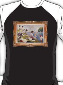 Clockwork Orange Seurat Mashup T Shirt T-Shirt