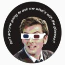 Doctor Who 3D Glasses by Harmony55