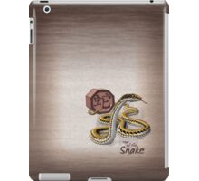 Chinese Zodiac - Year of the Snake iPad Case/Skin