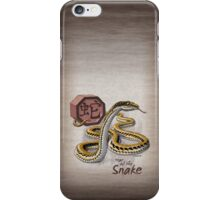 Chinese Zodiac - Year of the Snake iPhone Case/Skin