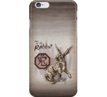 Chinese Zodiac - Year of the Rabbit iPhone Case/Skin