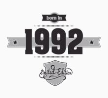 Born in 1992 Kids Clothes