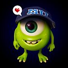 Young Mike Wazowski by hardsign
