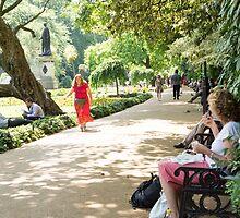 whitehall gardens by Anne Scantlebury