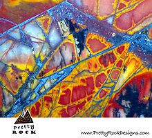 Pretty Rock Designs Calendar #1 by Stephanie Bateman-Graham