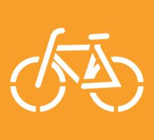 Bicycle Stencil (dark) by KraPOW
