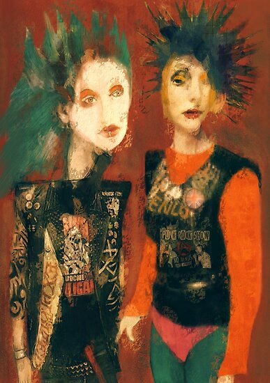 Pretty Vacant by Sarah Jarrett