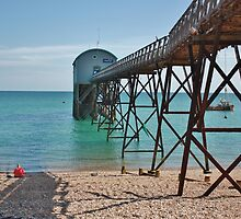 Selsey Lifeboat Pier #1 by Matthew Floyd