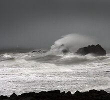 Stormy Seas by AyrshireImages