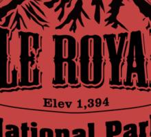 Isle Royale National Park, Michigan Sticker