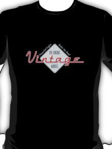 Vintage : Powerful V8 T-Shirt