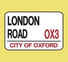 London Road Street Sign by OxManDesigns