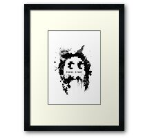 Paint-Man Framed Print