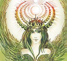 """THE CAPRICORN"" - Protective Angel for Zodiac Sign by Anna Ewa Miarczynska"
