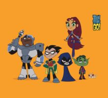 Teen Titans GO! by bertviles