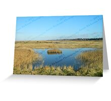 Lone Island - Blakeney to Cley Walk  Greeting Card