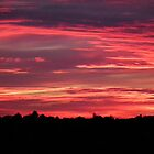 September's First Sunset by Hannah Saveall